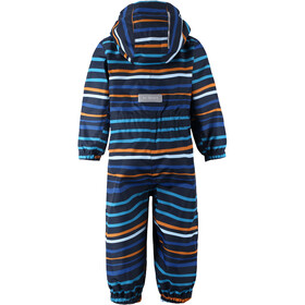 Reima Hopom Combinaison Reimatec Enfants en bas âge, navy/orange stripes